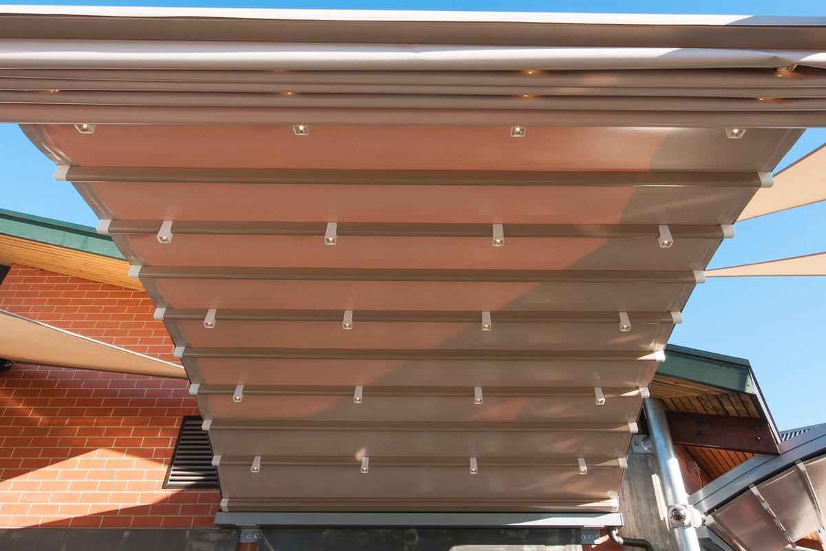 Retractable motorised roof Adelaide South Australia