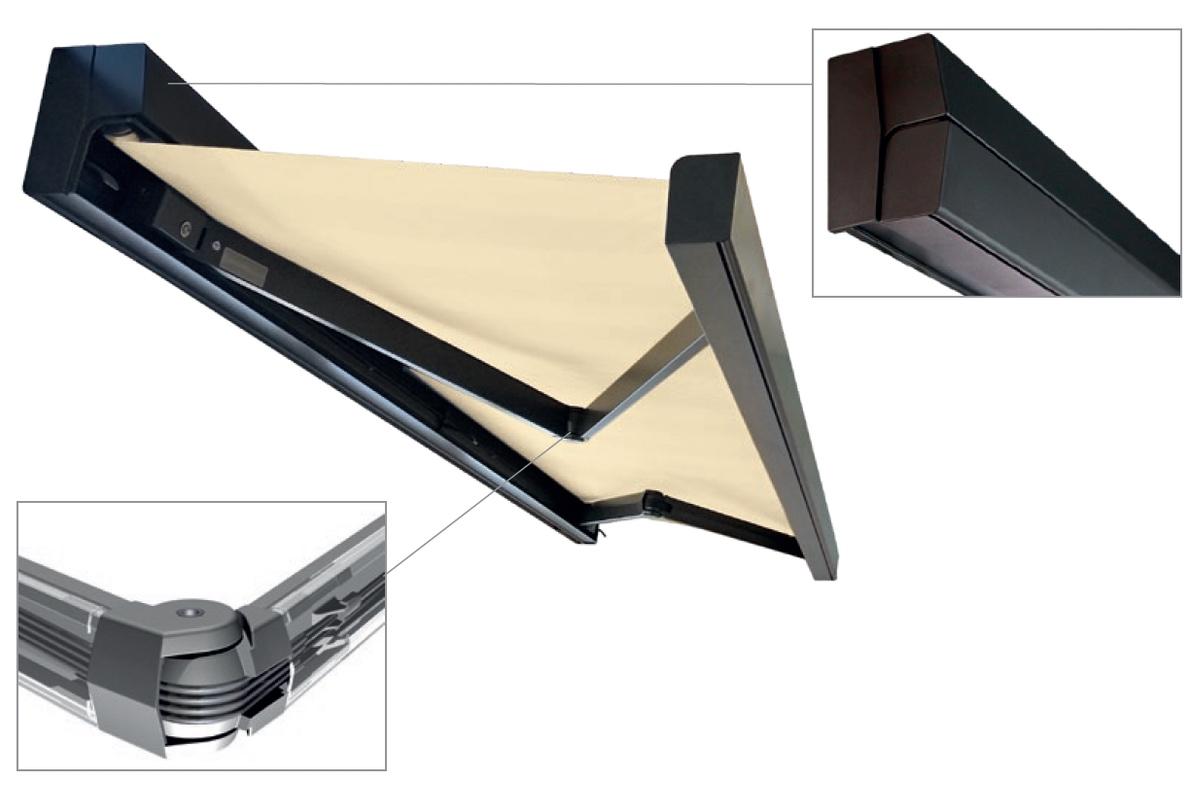 rubix helioscreen folding arm awning motorised Adelaide SA