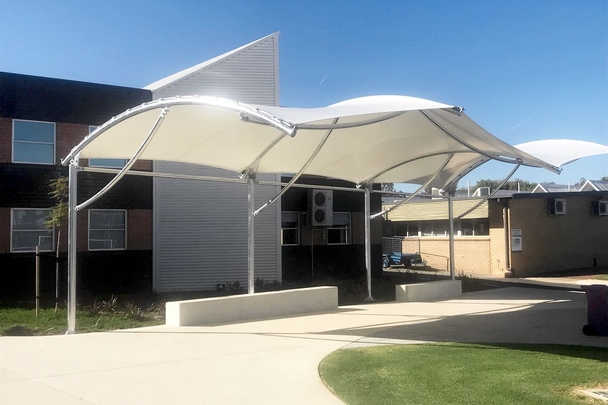 cantilever shade structure south australia