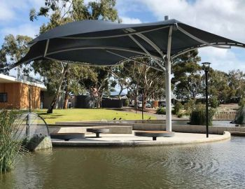 Custom Shade for West Beach Apex Park