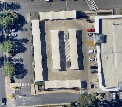 Car Park sheleters structures Arkaba Village Fullarton City of Unley SA