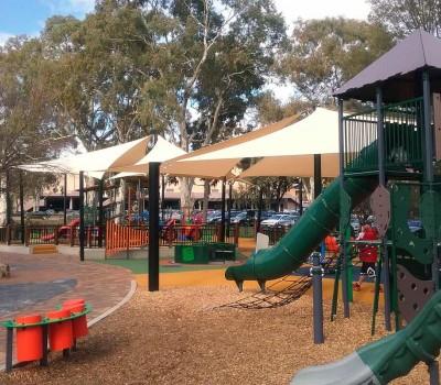 shade sail civic parc Modbury city of Tea Tree Gully SA