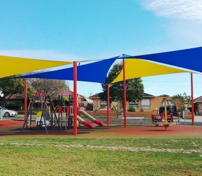 shade sails Paul_s Drive Reserve City of Port Adelaide Enfield