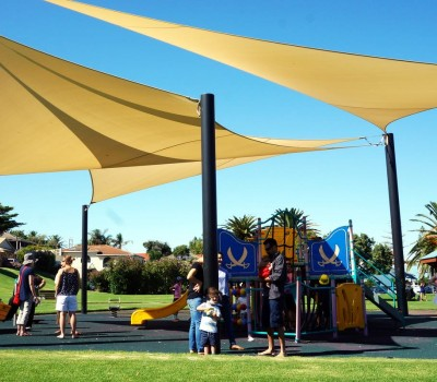 shade sail city of holdfast bay sa